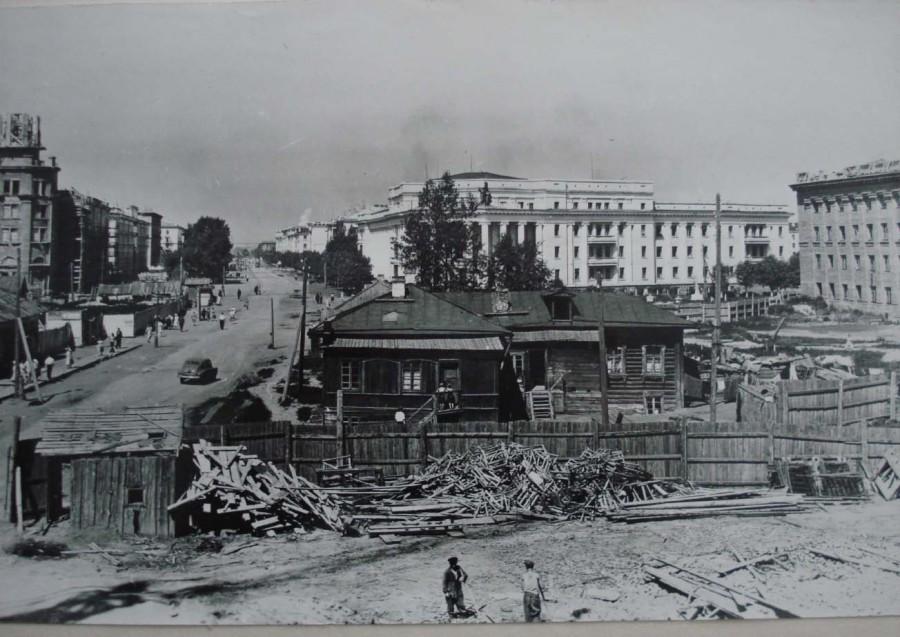 Строится проспект Советский