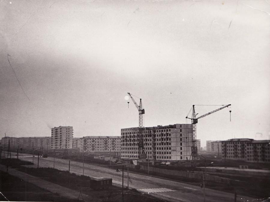 Строительство домов на проспекте Ленина