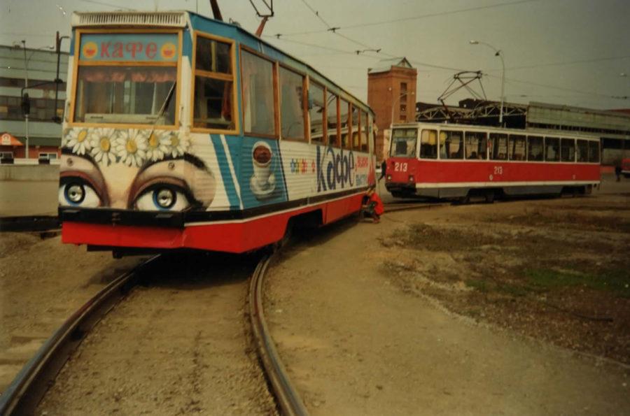 Трамвай-кафе в Кемерово