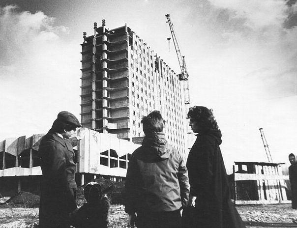 Строительство гостиницы «Кристалл»