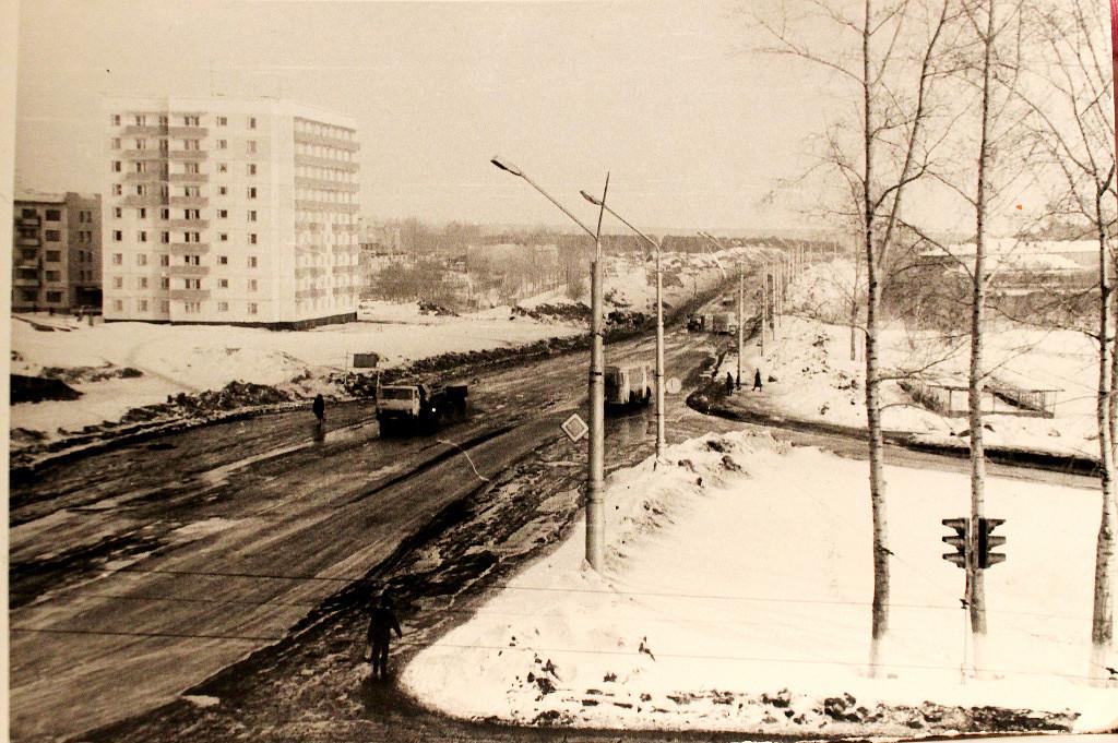 Начало улицы Терешковой